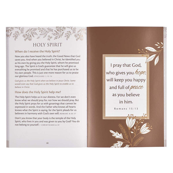 Gift Book Prayer Page