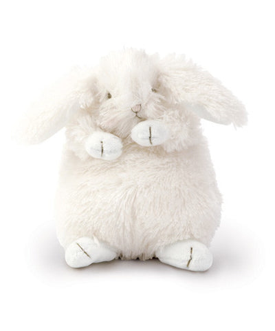 Bunnies by the Bay's Fluffy White Ittybit Bunny Rabbit Stuffed Animal Baby Gift
