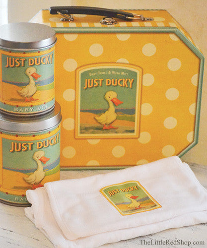 Just Ducky Onesie & Bib Set