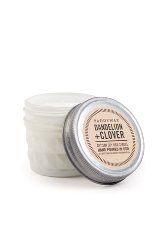 Dandelion and Clover 3 oz Relish Jar Soy Wax Candle