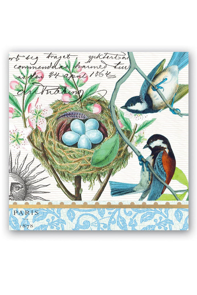 Michel Design Works Bird Nest Cocktail Napkins