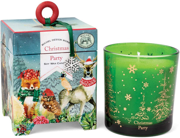 Christmas Party 6.5 oz Box w/ Candle