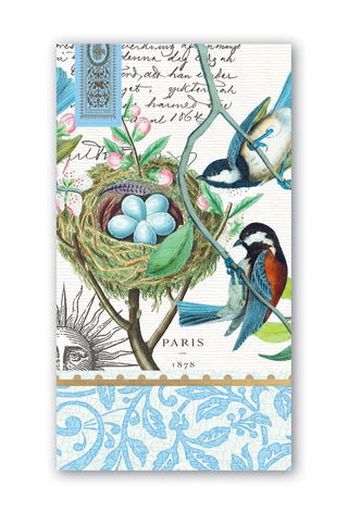 Michel Design Works Bird Nest Hostess Napkins
