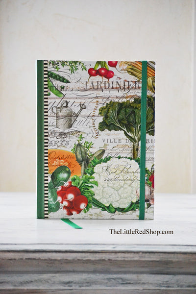 Michel Design Works From My Garden Journal featuring Colorful Vegetables