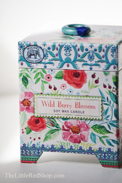 Michel Wild Berry Blossom Candle