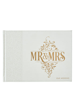 Mr. & Mrs. Wedding Guest Book