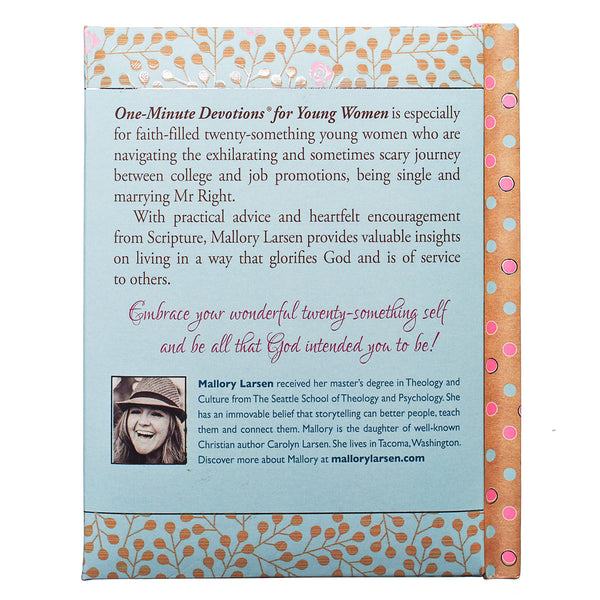 Back Cover Young Women Devotional