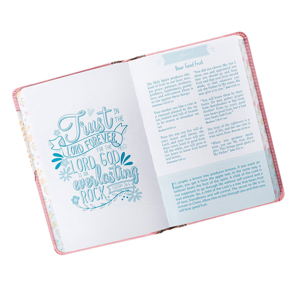 For Girls Pocket Bible Devotional ~ Page View