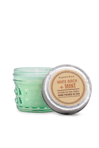Birch Mint Soy Wax Candle
