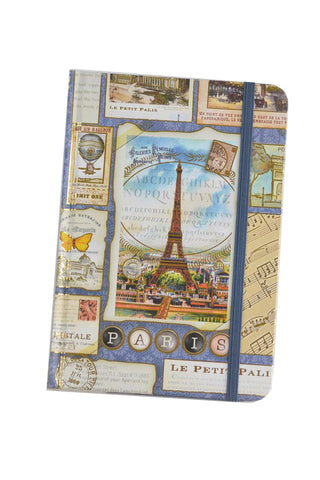 Blue Eiffel Paris Journal Cover