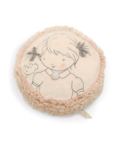 Bunnies by the Bay's Soft Pink Pretty Girl Pillow Gift