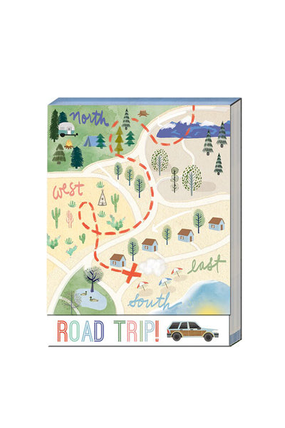 """Road Trip"" Pocket Notepad"