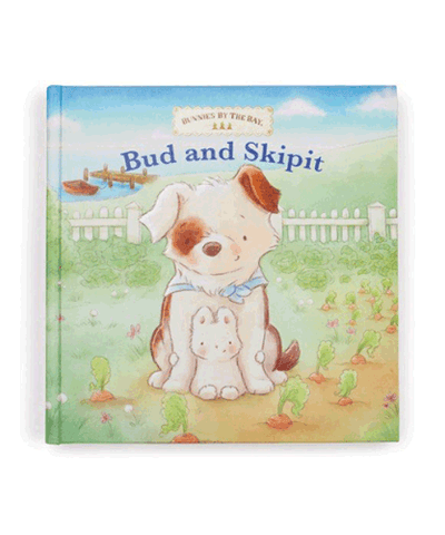 Bunnies by the Bay's Bud and Skipit Bunny and Puppy Board Book