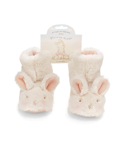 Blossom Bunny Faux Fur Snug Booties