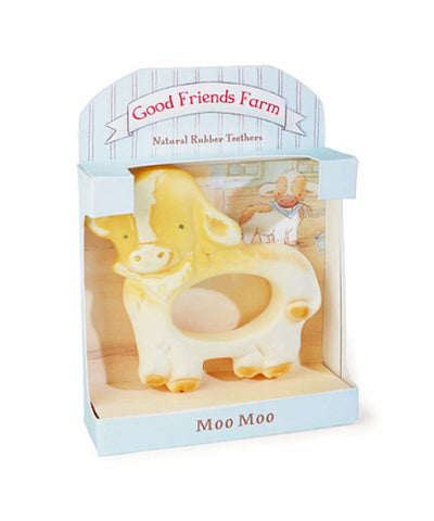 Moo Moo Cow Rubber Teether