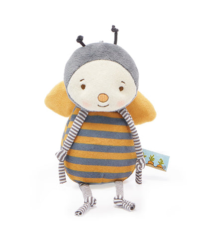 Buzzbee Stuffed Animal Rattle