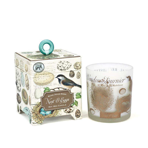 Nest & Eggs Soy Wax 6.5 oz Candle