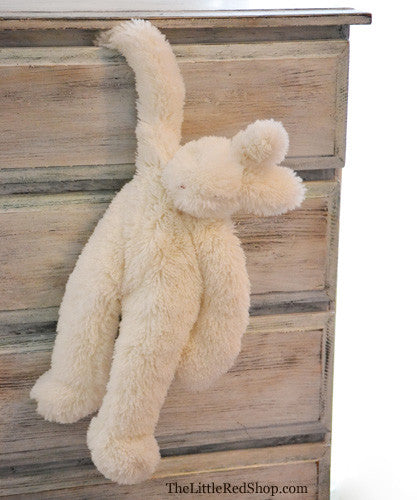 Bunnies by the Bay's White Floppy Hoppy Best Friend Bunny Stuffed Animal