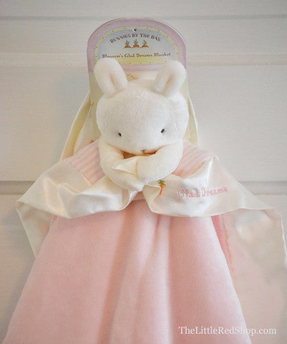 Bunnies by the Bay's Pink Blossom's Glad Dreams Bunny Blanket