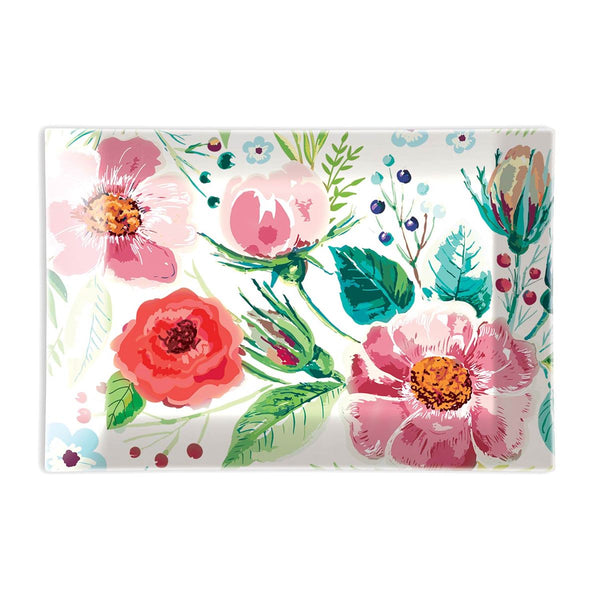 Wild Berry Blossom Floral Soap Dish