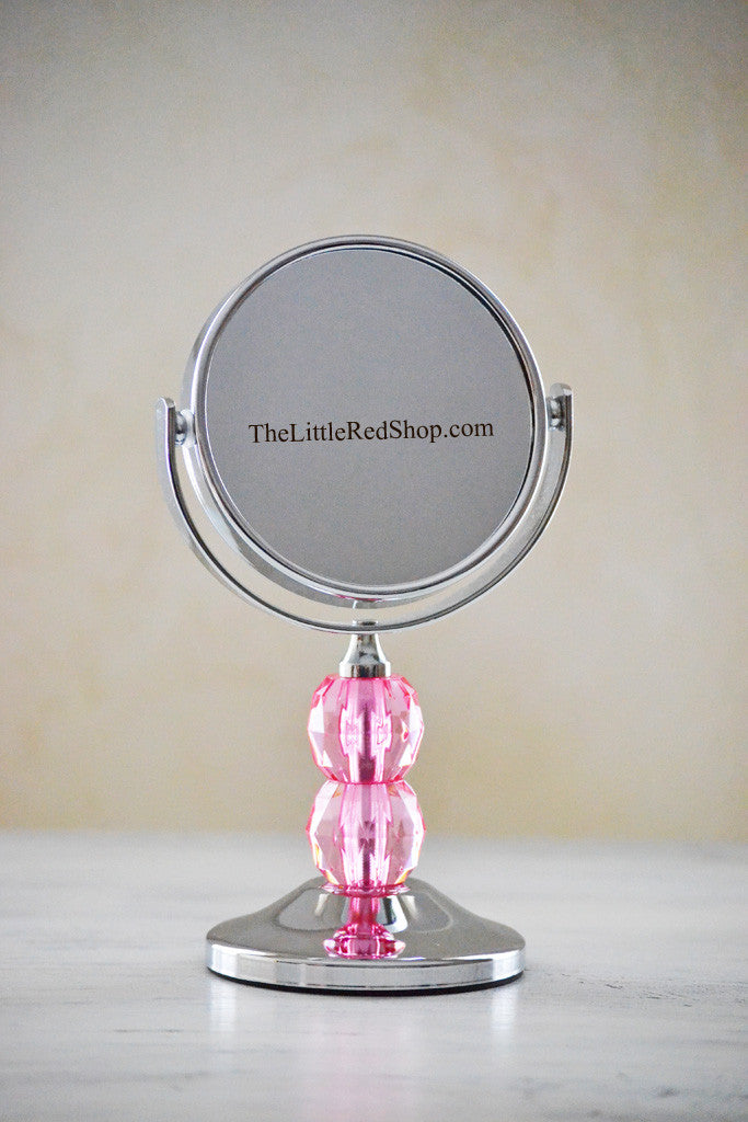 Mini Fuchsia Gem 3x Mirror