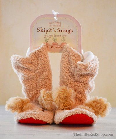 Bunnies by the Bay's Skipit Snugs Puppy Dog Slippers