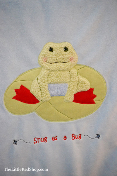 "Tadbit's ""Snug as a Bug"" Blanket"