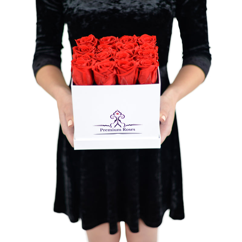 Roses in a box. RED_ROSE_BOX