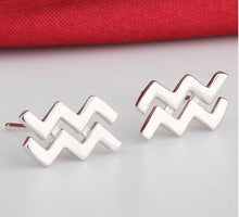 Stud Silver  Earrings
