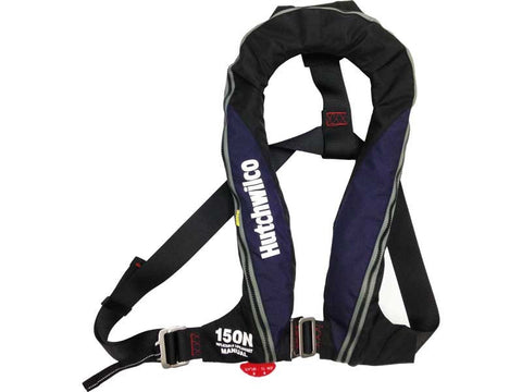 150N Manual Inflatable Horseshoe Lifejacket
