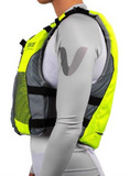 Vaikobi V3 Ocean Racing PFD, Fluro Yellow-Grey