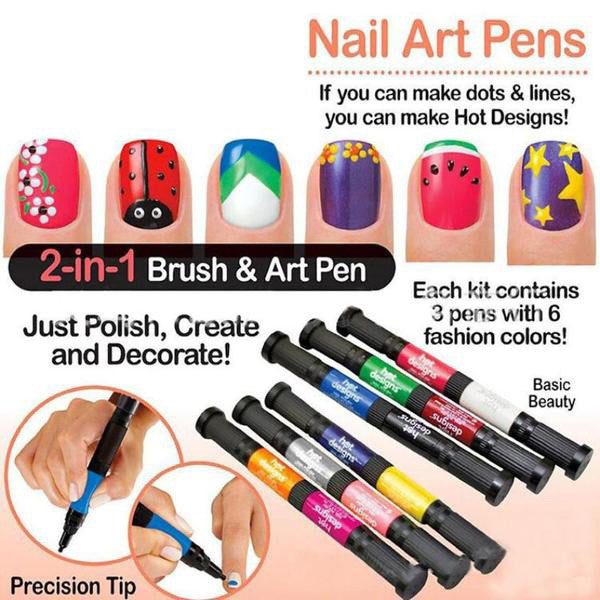 Nail Duo Art Pins