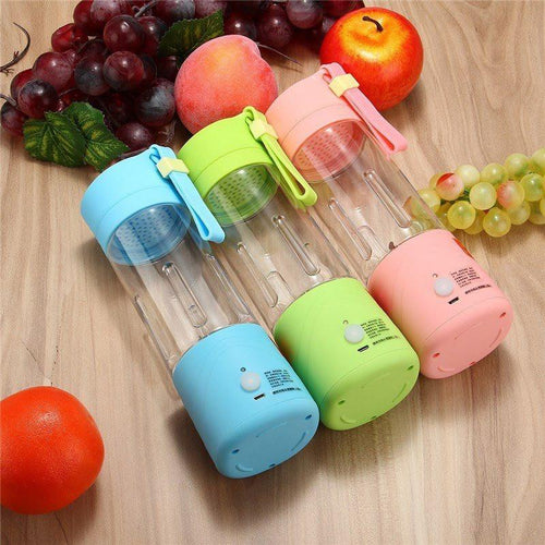 On The Go USB Electric Juicer Bottle Blender