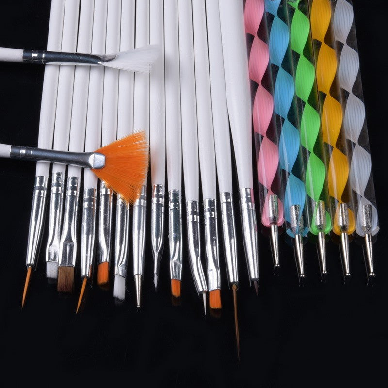 Glow Up Nail Art Brush Kit