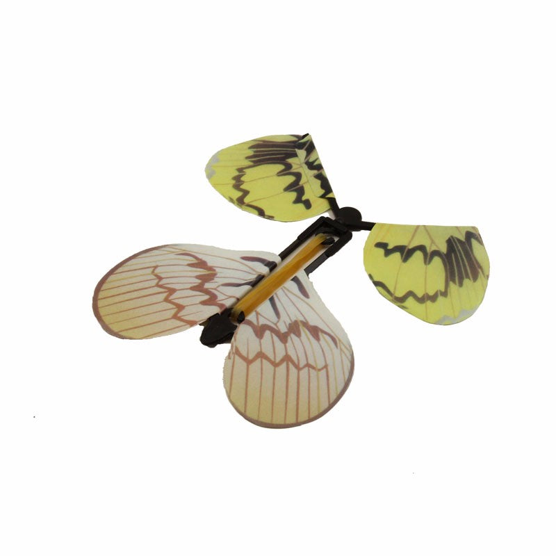 Whimsical Flying Butterfly