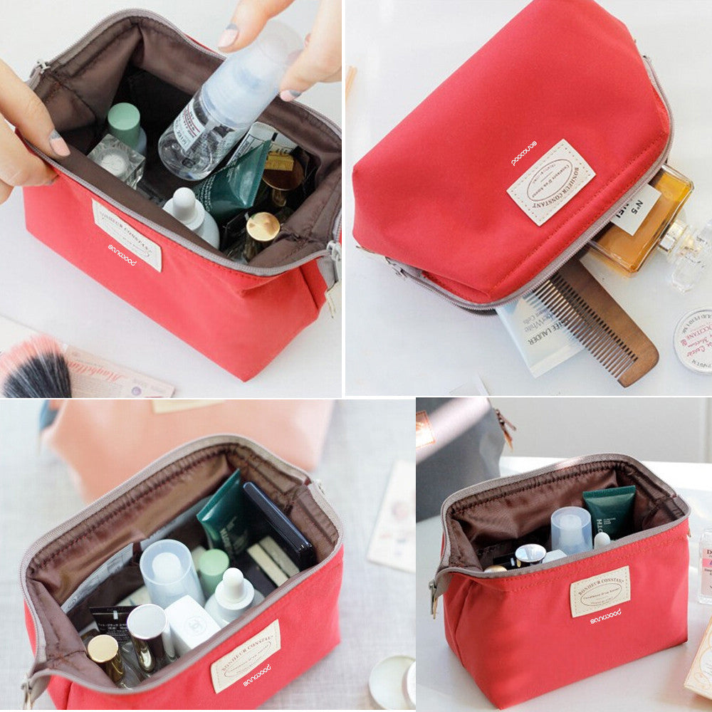Pack Away Waterproof Cosmetic Case