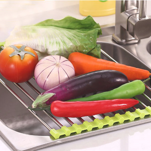 Magic Kitchen Roll Up Drain Rack