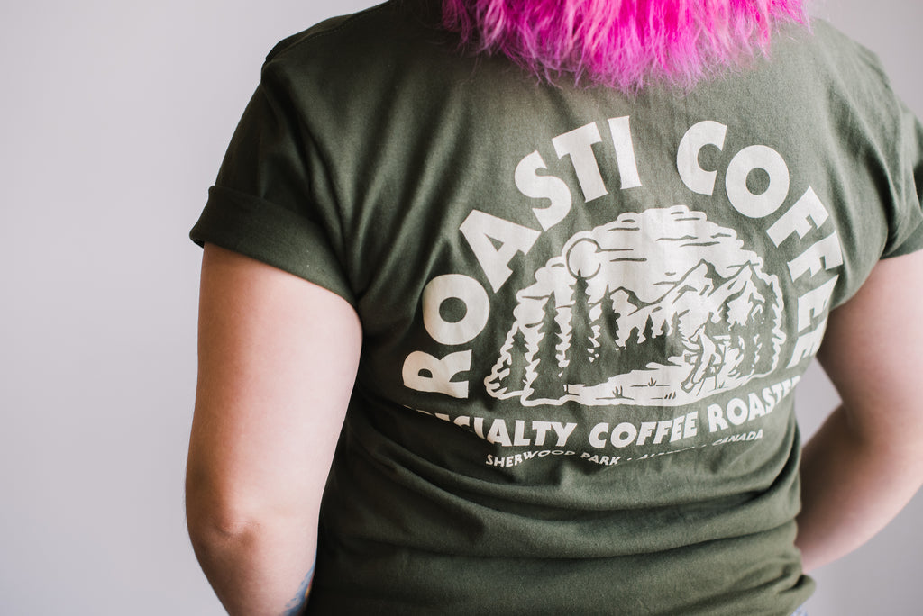 "Roasti ""Coffee Bear"" T-shirt"