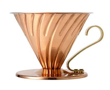 V60-02 Dripper Copper