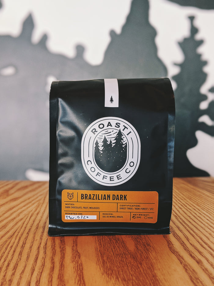 Brazil Yellow Bourbon, DARK - Direct Trade