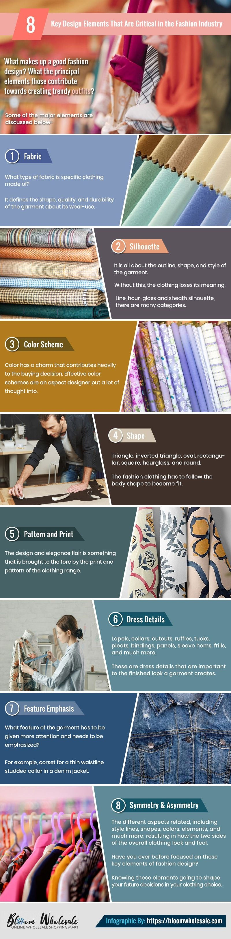 5 Key Design Elements That Matter In The Fashion Industry Bloom Wholesale Clothing