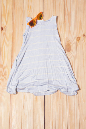 KIDS Blue Stripe Tunic Dress