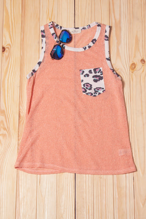 Coral Animal Pocketed Tank