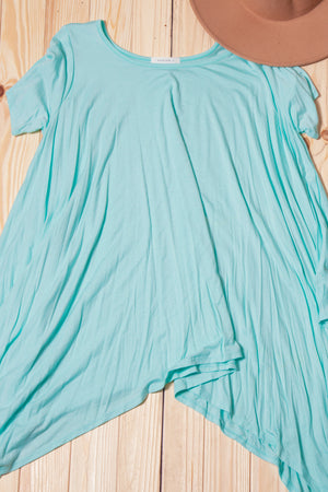 Mint Dolman Tunic