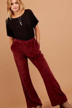 Marsala Burgundy Pocketed Ultra Soft Bottoms