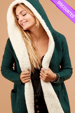 Green Sherpa Jacket