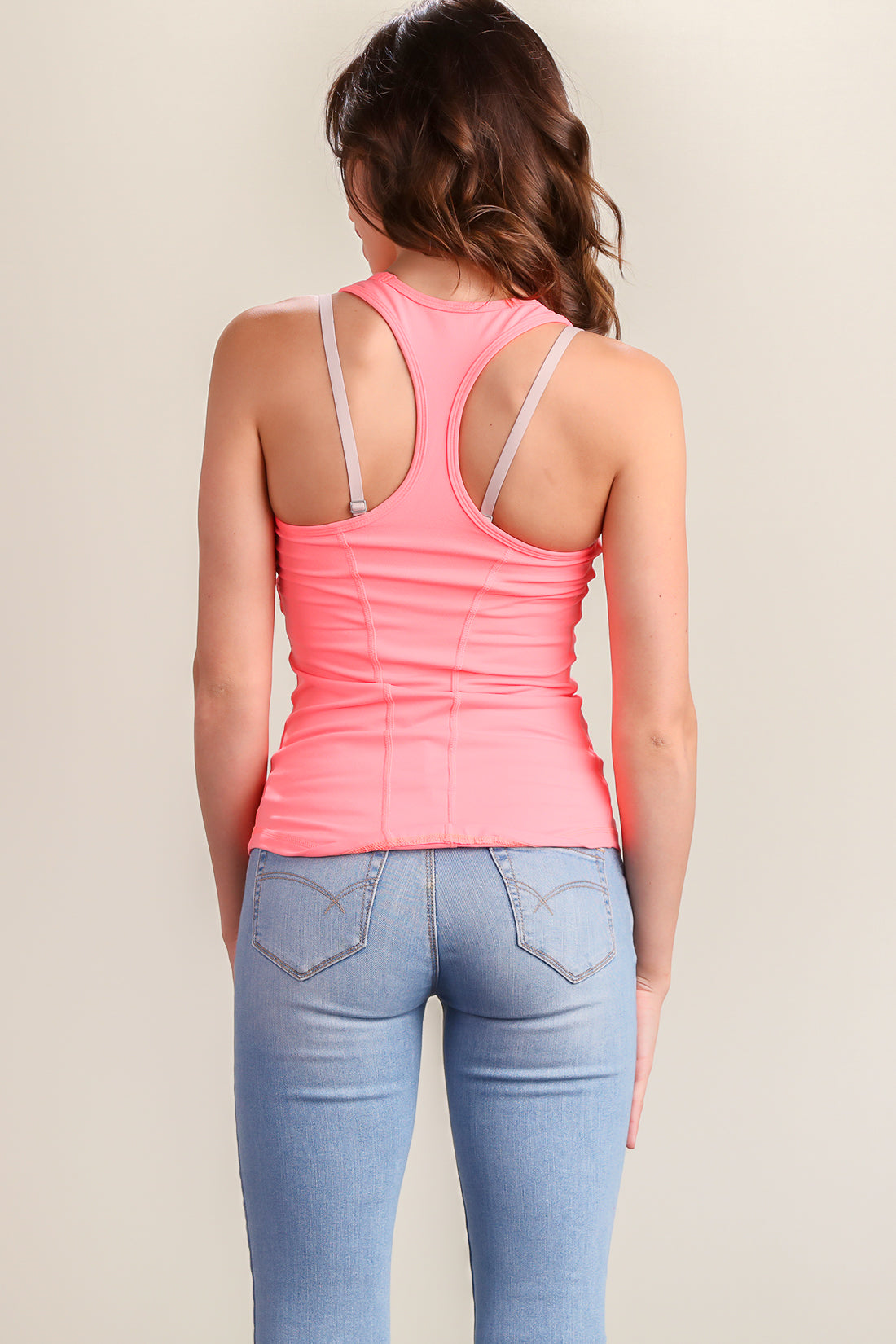 Pink Work Out Top