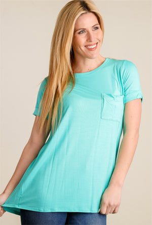 Mint Pocket Top