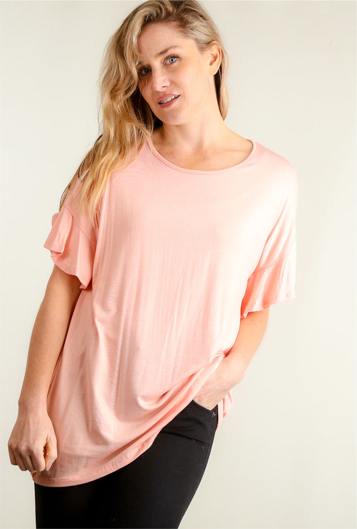 Coral Bell Sleeve Tunic