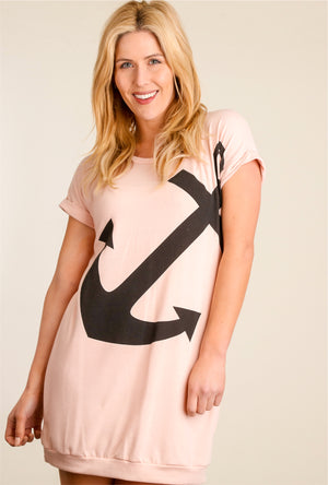 Blush Anchor Dress